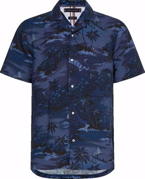 THM Hawaiian Print S/S Skjorte